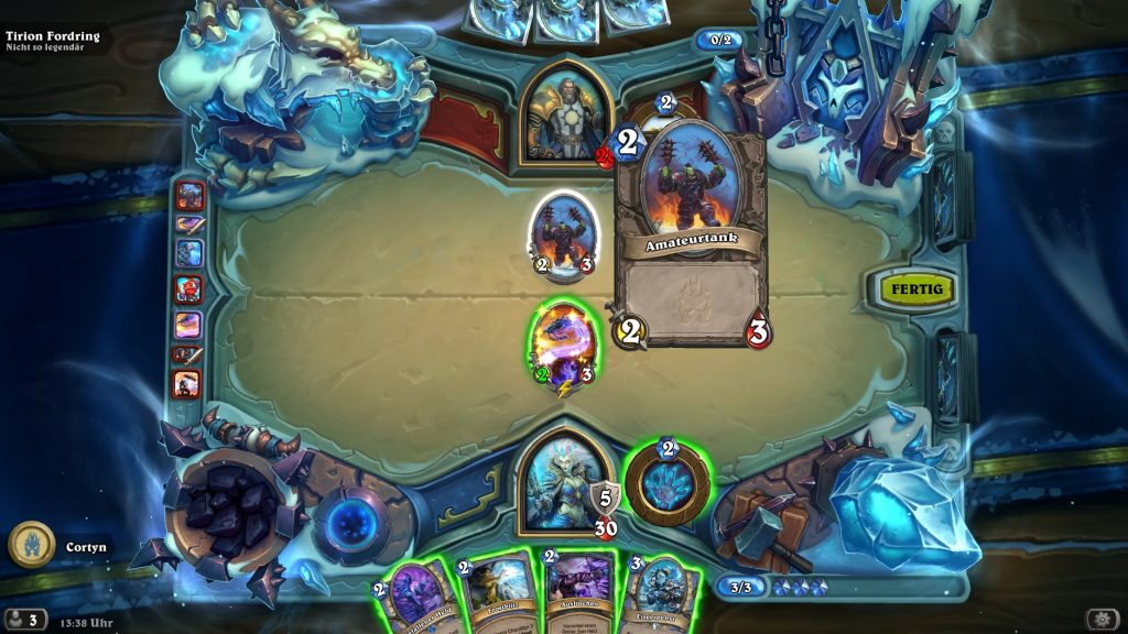 Hearthstone Frozen Throne Prolog 2