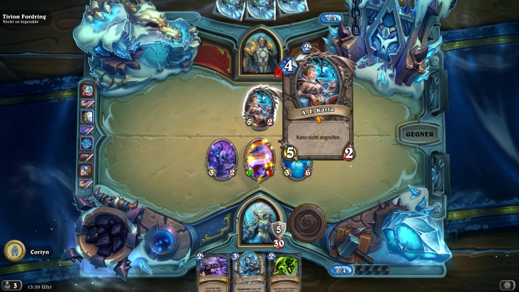 Hearthstone Frozen Throne Prolog 3