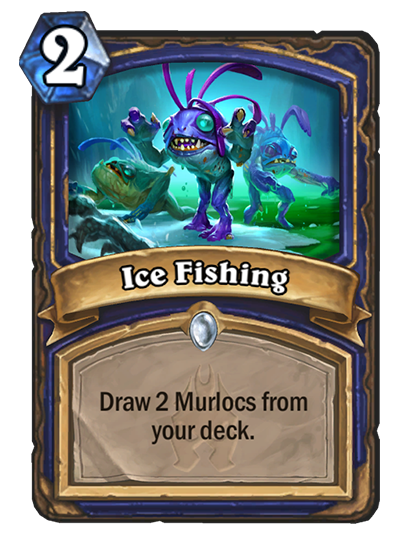 Hearthstone Ice Fishing