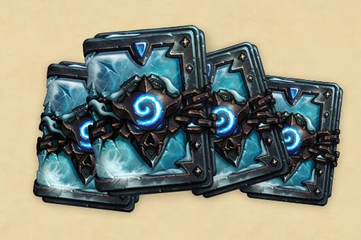 Hearthstone KFT Frozen Throne Card Packs
