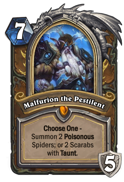 Hearthstone Malfurion the Pestilent