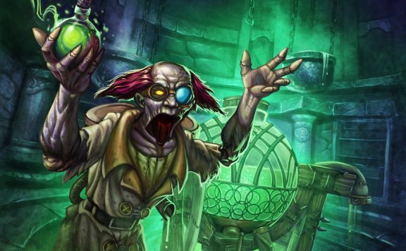 Hearthstone Professor Putricide Artwork