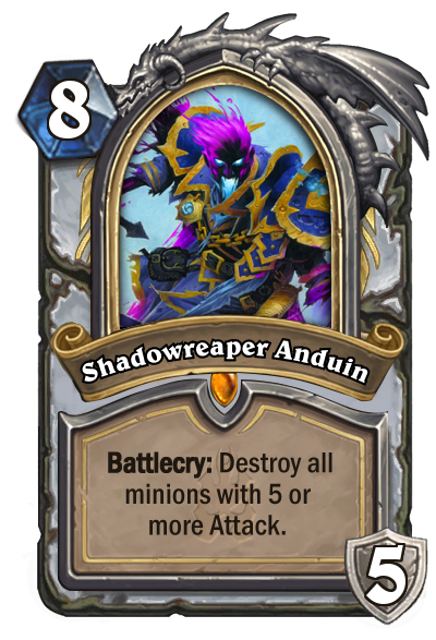 Hearthstone Shadowreaper Anduin