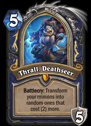 Hearthstone Thrall Deathseer