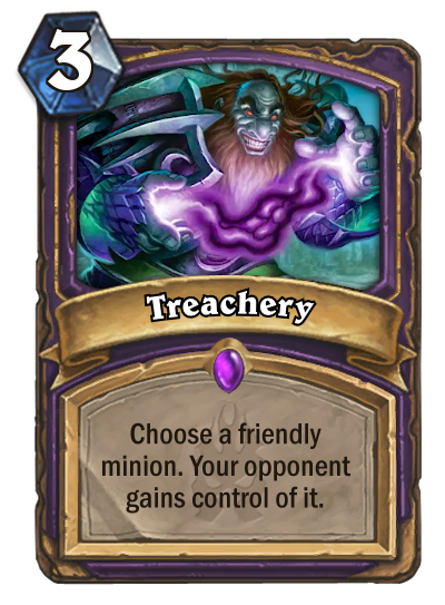 Hearthstone Treachery