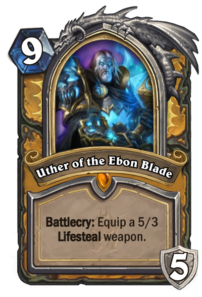 Hearthstone Uther of the Ebon Blade