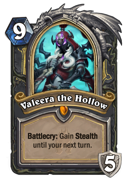 Hearthstone Valeera the Hollow