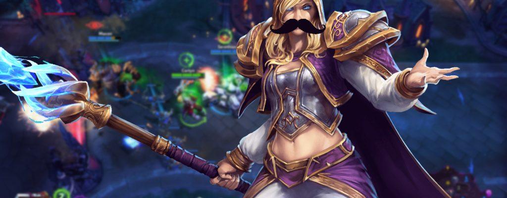 Heroes of the Storm: Echte Kerle tragen Bart – echte Frauen aber auch!