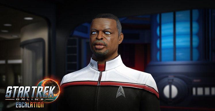 LeVar Burton Star Trek Online