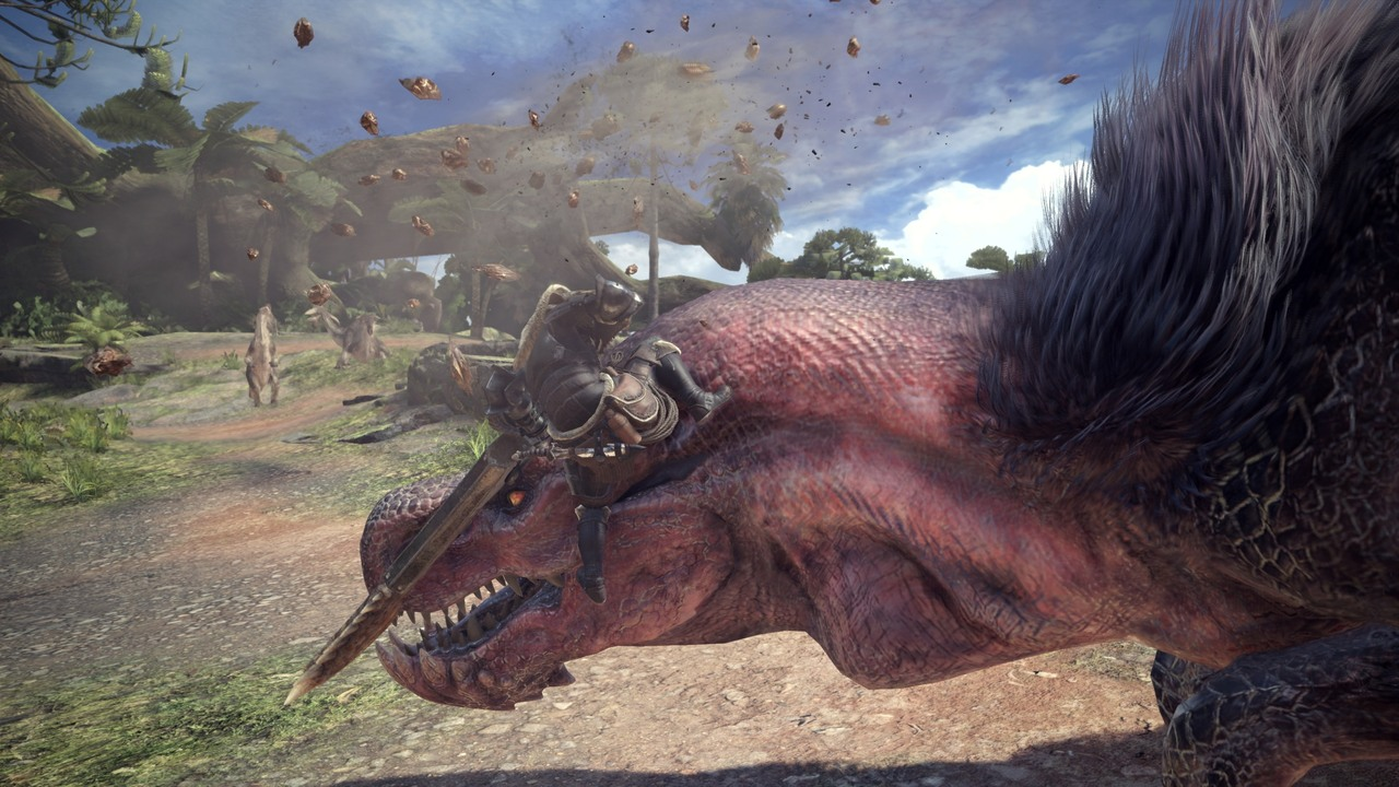 MonsterHunterWorld Anjanath