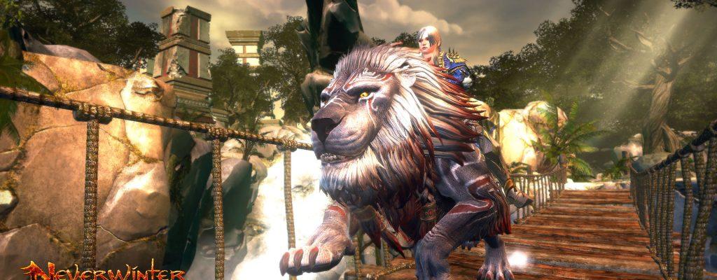 Neverwinter: Gewinnt ein exklusives Löwen-Mount für den PC
