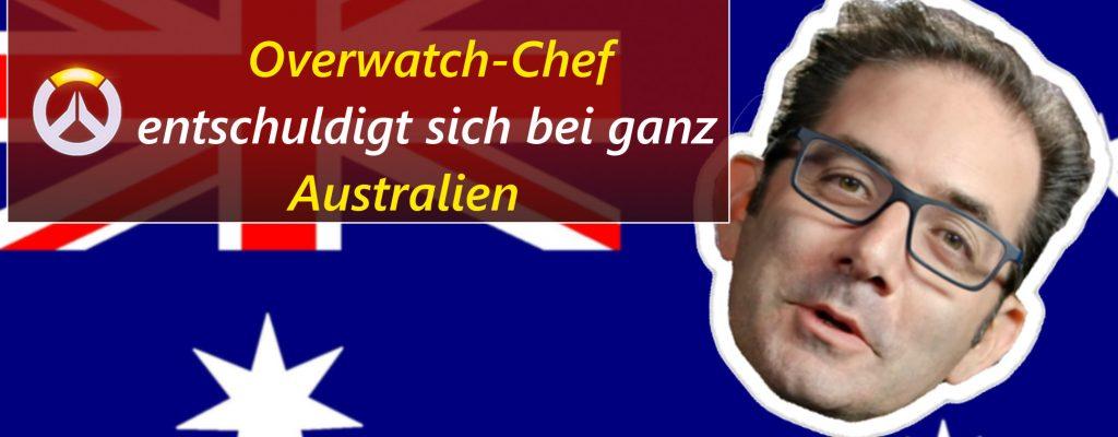 """Overwatch: Kaplan sagt """"Sorry!"""" zu ganz Australien"""
