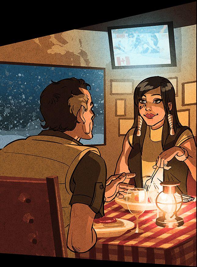 Overwatch Pharah Father Comic