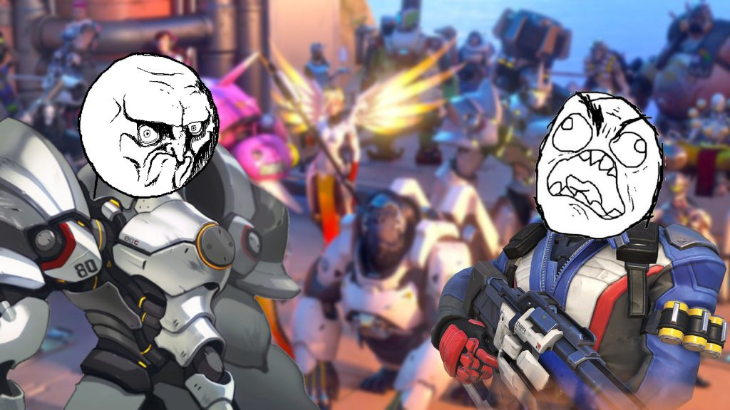 Overwatch Soldier Reinhardt Memefaces
