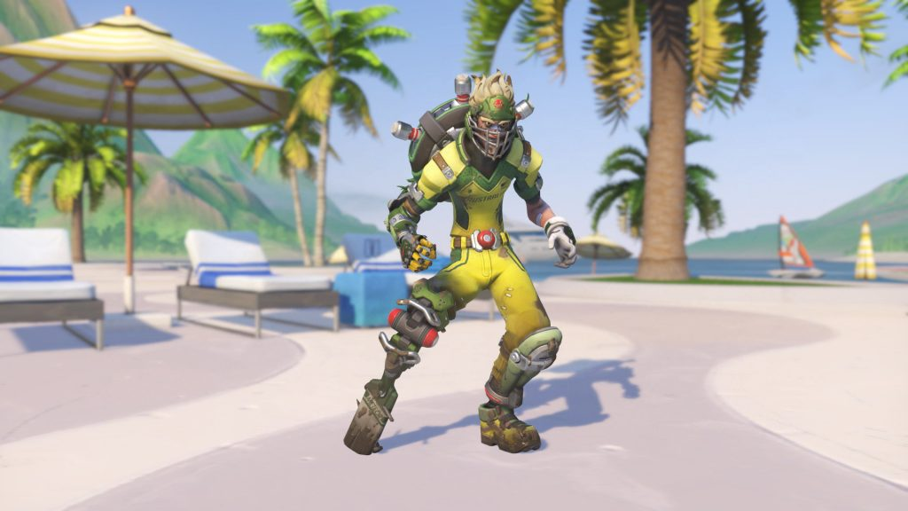 Overwatch Summer Games Junkrat Cricket legendary