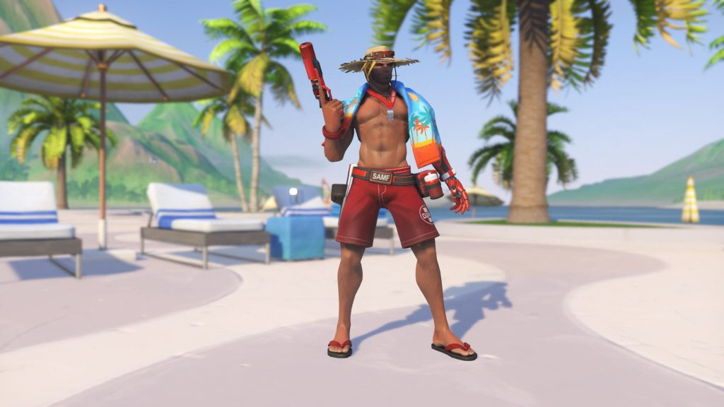 Overwatch Summer Games McCree Lifeguard Legendary