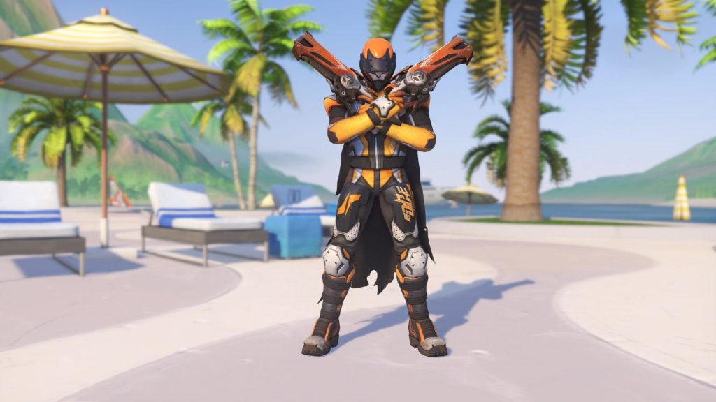 Overwatch Summer Games Reaper Biker Legendary