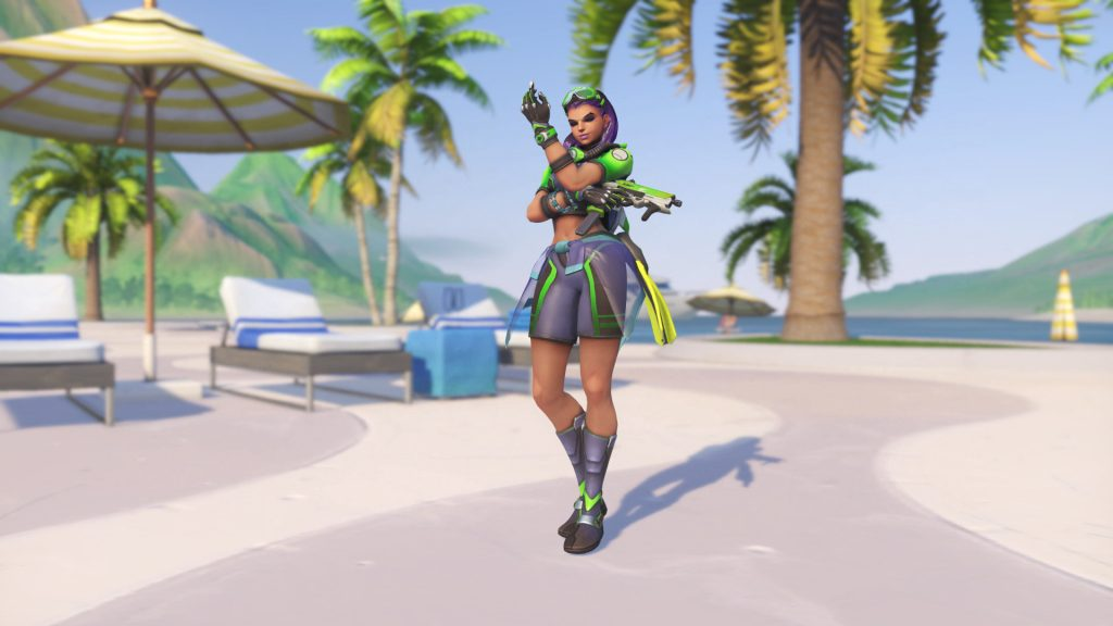 Overwatch Summer Games Sombra Tulum Legendary