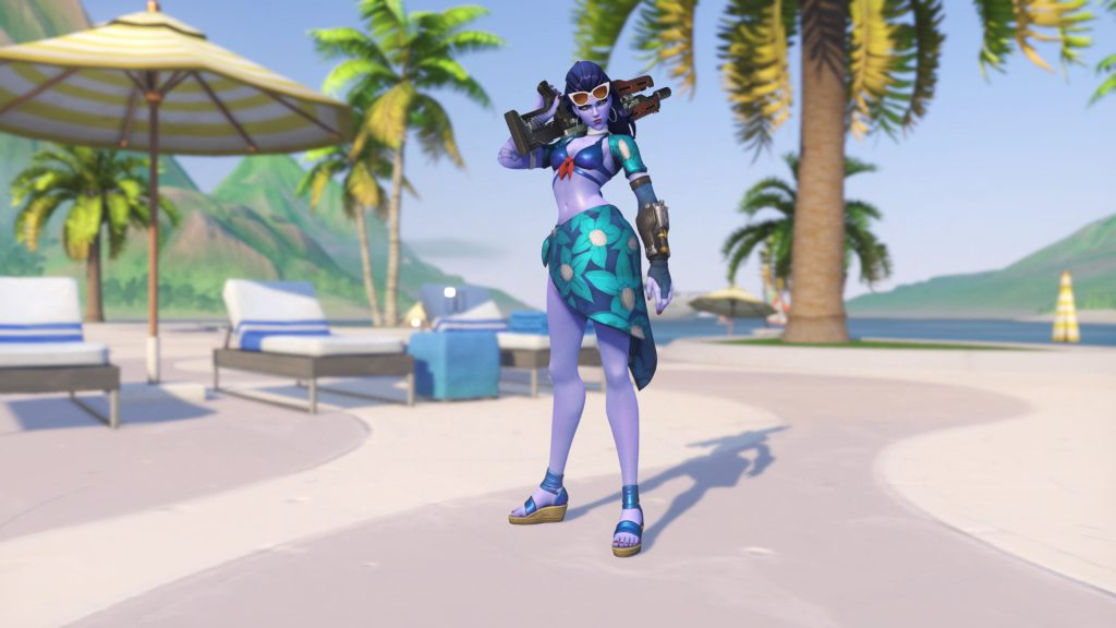 Overwatch Summer Games Widowmaker Cote Dazur Legendary