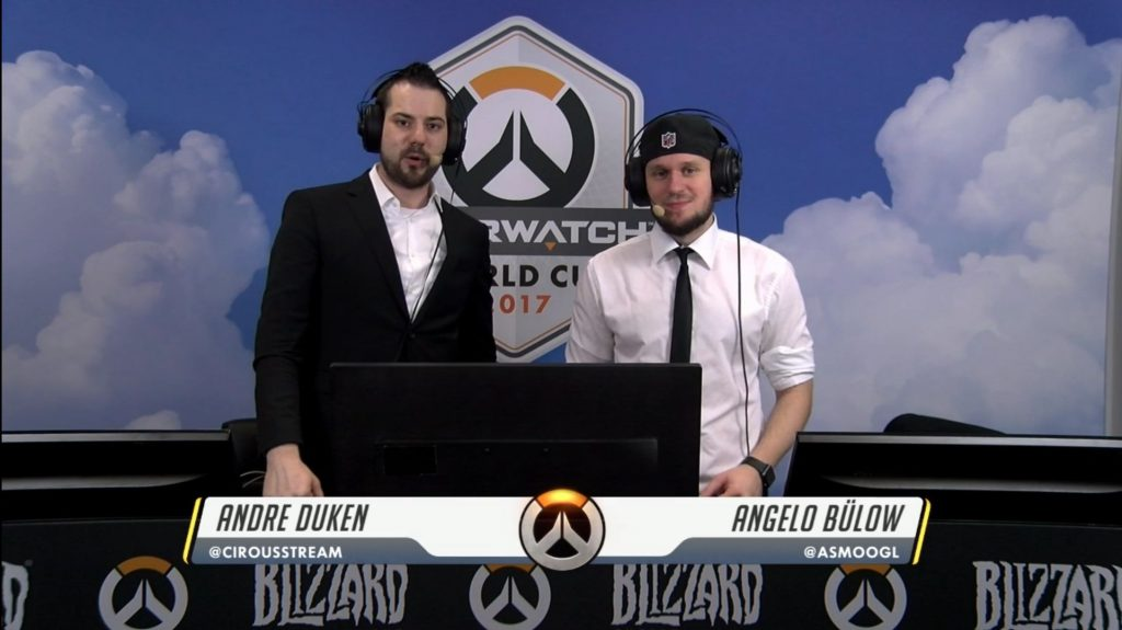 Overwatch World Cup Cast Cirouss Asmoogl