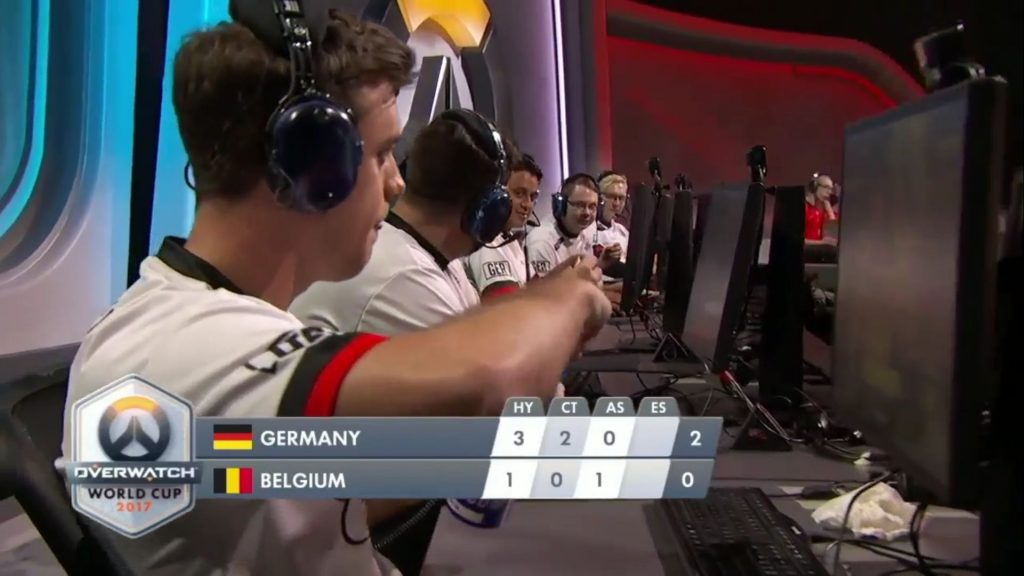 Overwatch World Cup Deutsches Team Pause