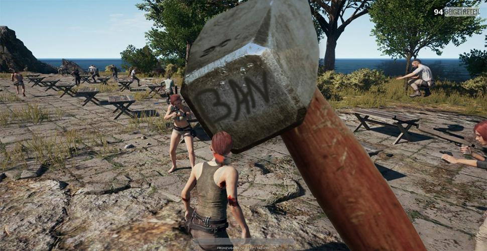 PUBG Banhammer