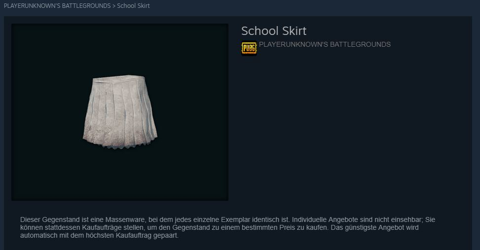 PUBG School Rock Steam