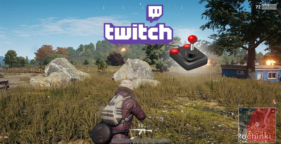 PUBG Twitch Spielt