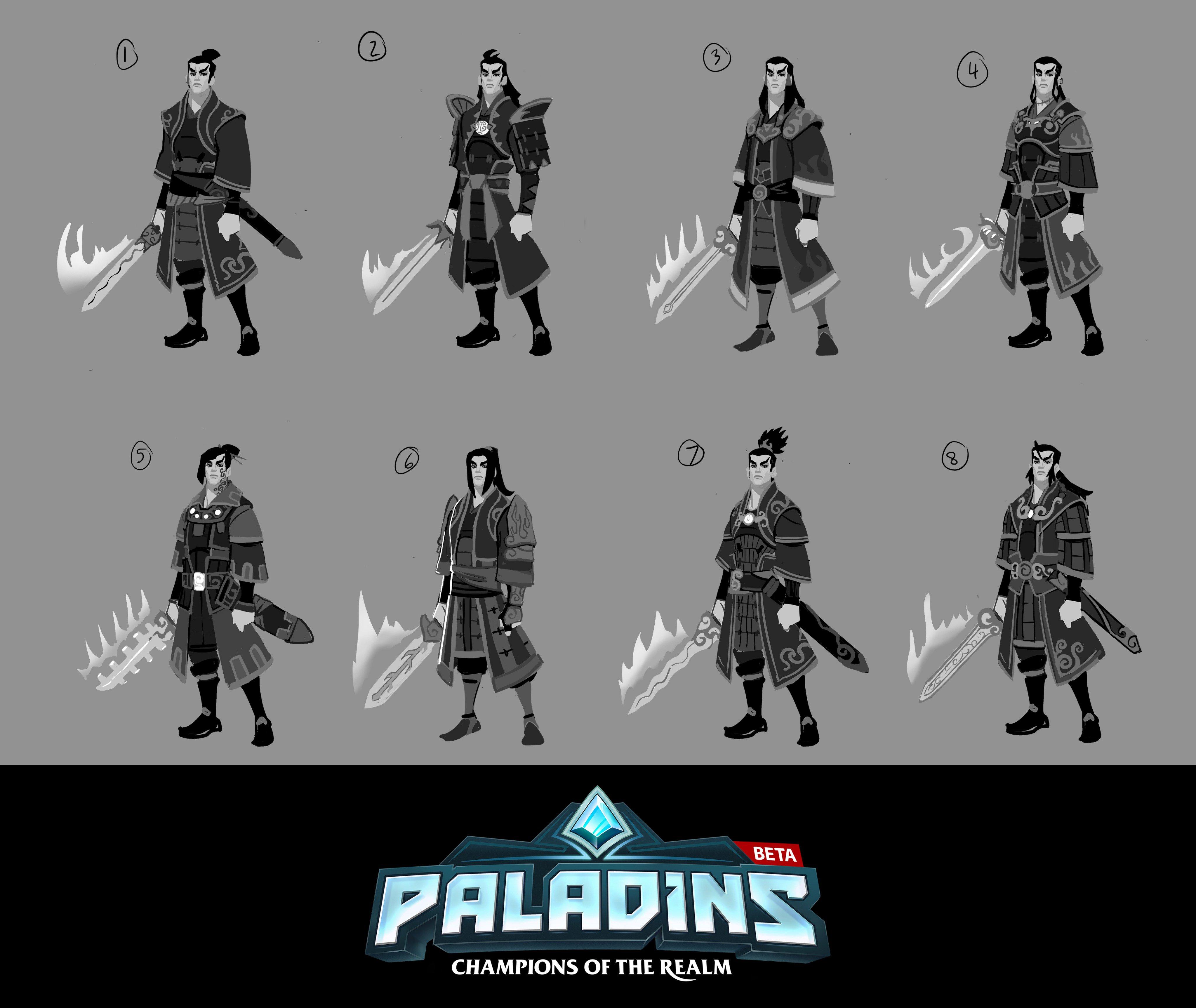 Paladins Zhin Concept Art