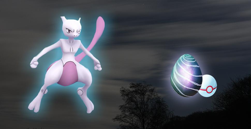 Pokémon GO Mewtu RaidBoss-Titel