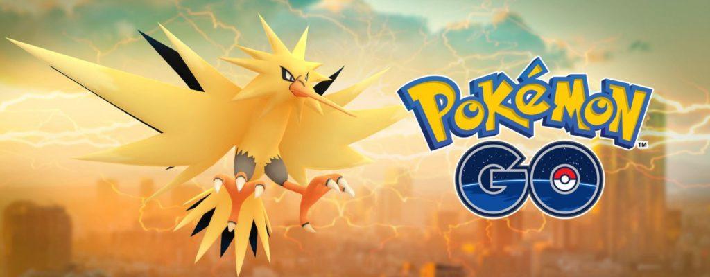 Pokémon GO: Heute ist Zapdos-Tag – Alles zu Start, Ende, Shiny, Konter und Boni