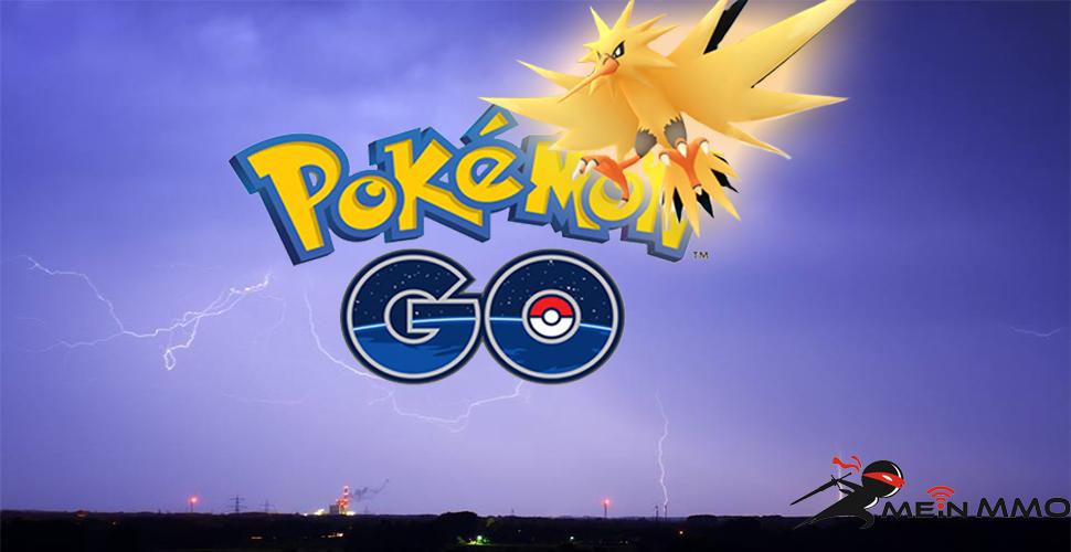Pokémon GO Zapdos Titel Logo