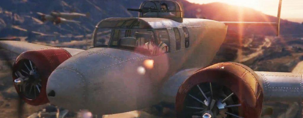 GTA Online: Neuer DLC Smuggler's Run live, neue Flugzeuge im Spiel