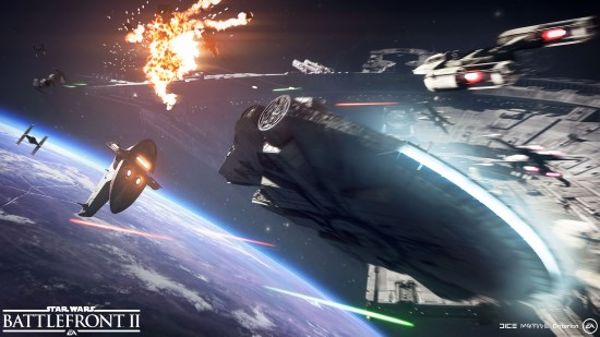 Star Wars Battlefront 2 Starfighter Assault Gamescom 2