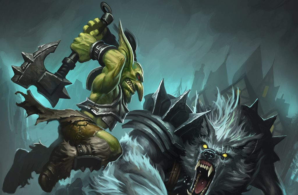 WOW Goblin Warrior Artwork