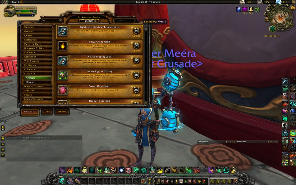WoW All Magetower challenges