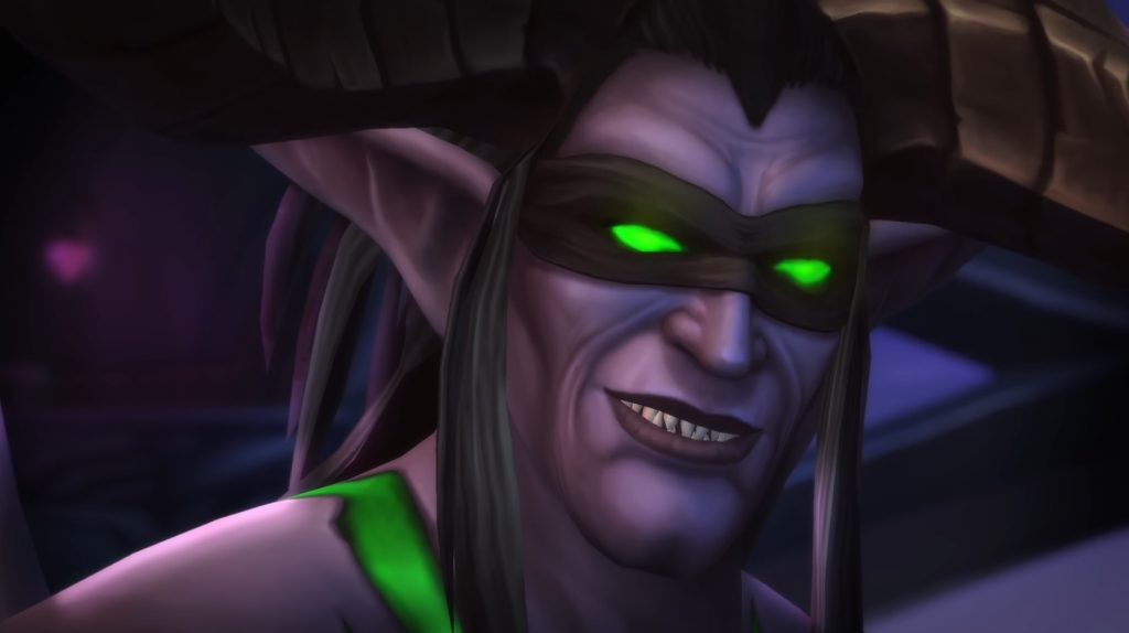 WoW Illidan Cinematic