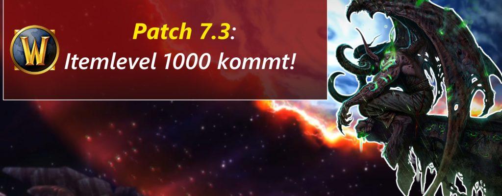WoW: Itemlevel 1000 – Maximalgrenze für Legion?