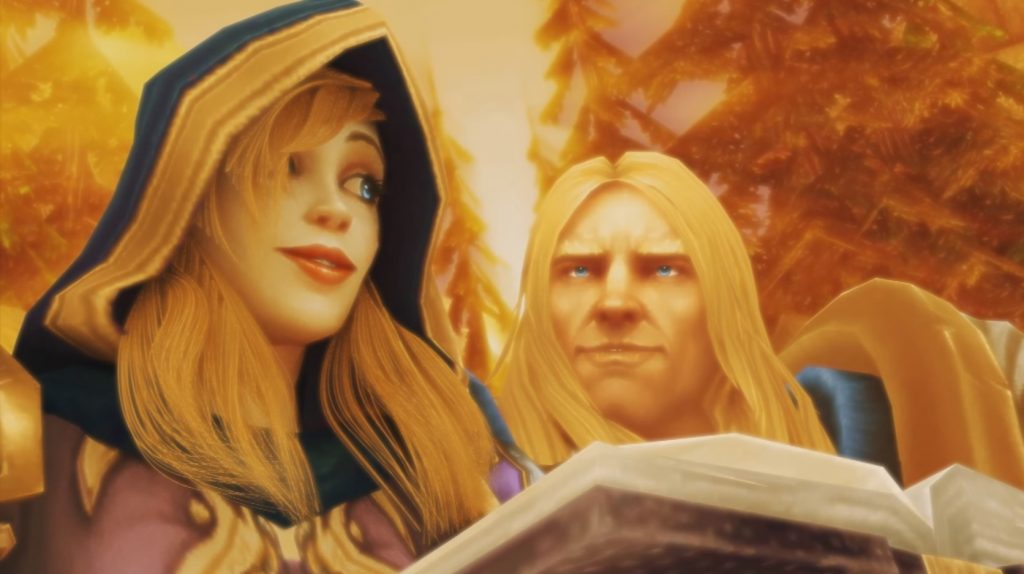 WoW Jaina Arthas in love