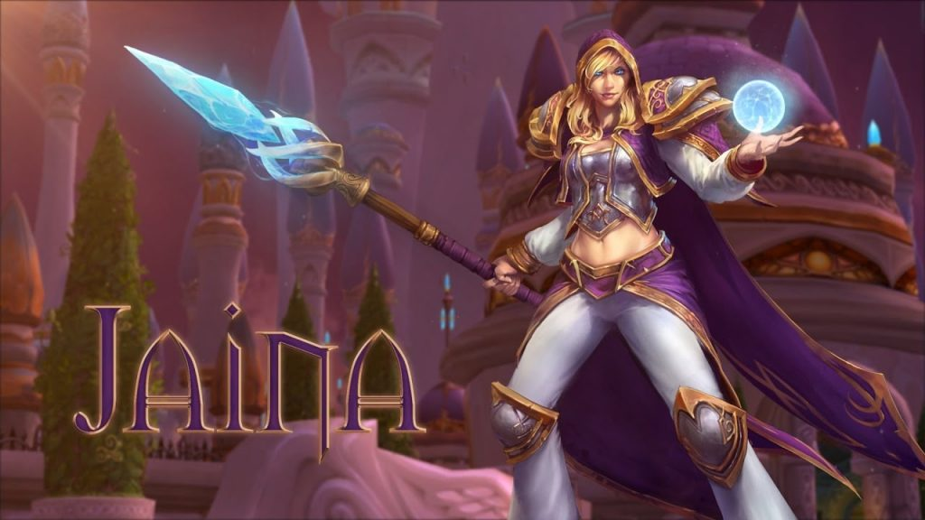 WoW Jaina Dalaran Artwork