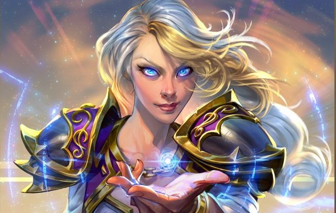 WoW Jaina Proudmoore Blizzcon 2017 Key Art