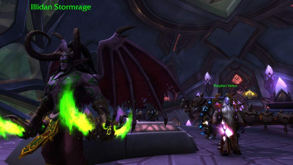 WoW Vindicaar Illidan