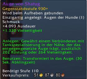 World of Warcraft Antorus Auge von Shatug