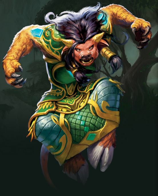 World of Warcraft Tauren Druid