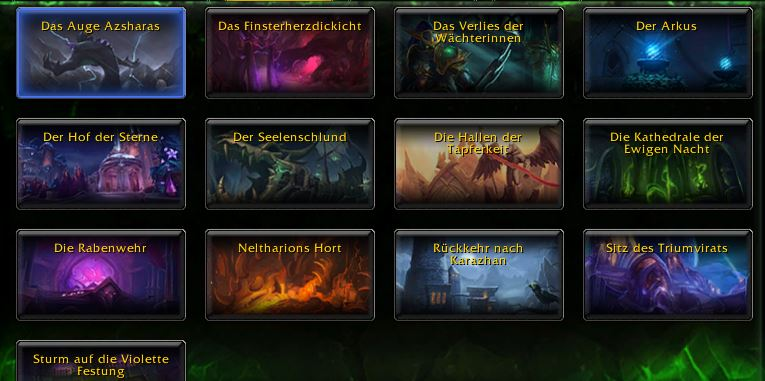 World of Warcraft Legion Dungeons Adventure Guide