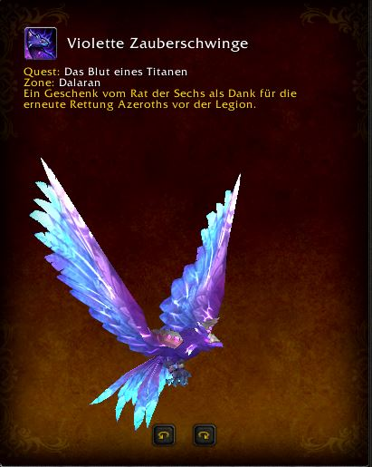 World of Warcraft PTR Patch 7 3 Violet Spellwing