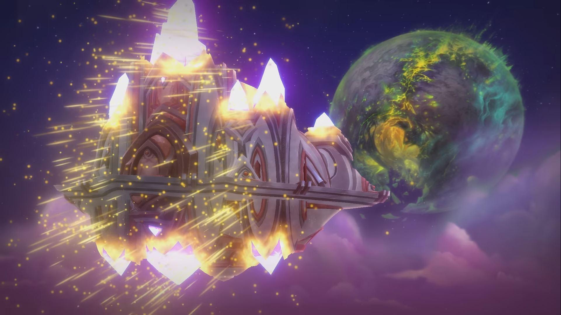 World of Warcraft Vindicaar Argus