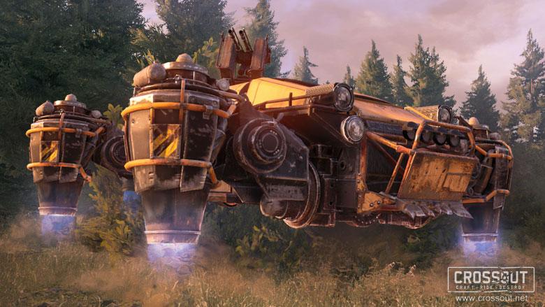 crossout hovercraft