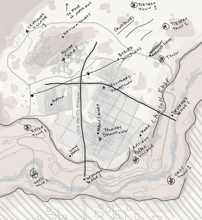 PUBG Desert Map