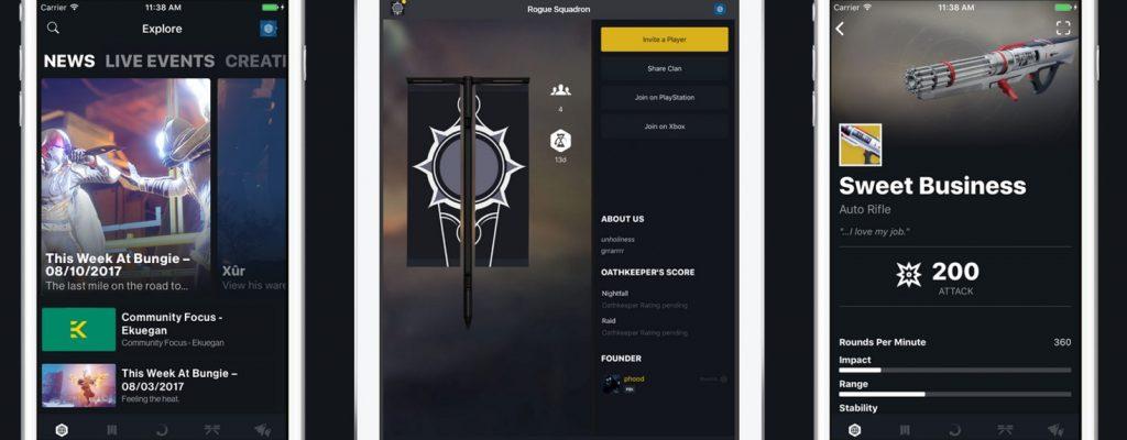 Die Companion App von Destiny 2 – Was ändert sich? Was ist neu?